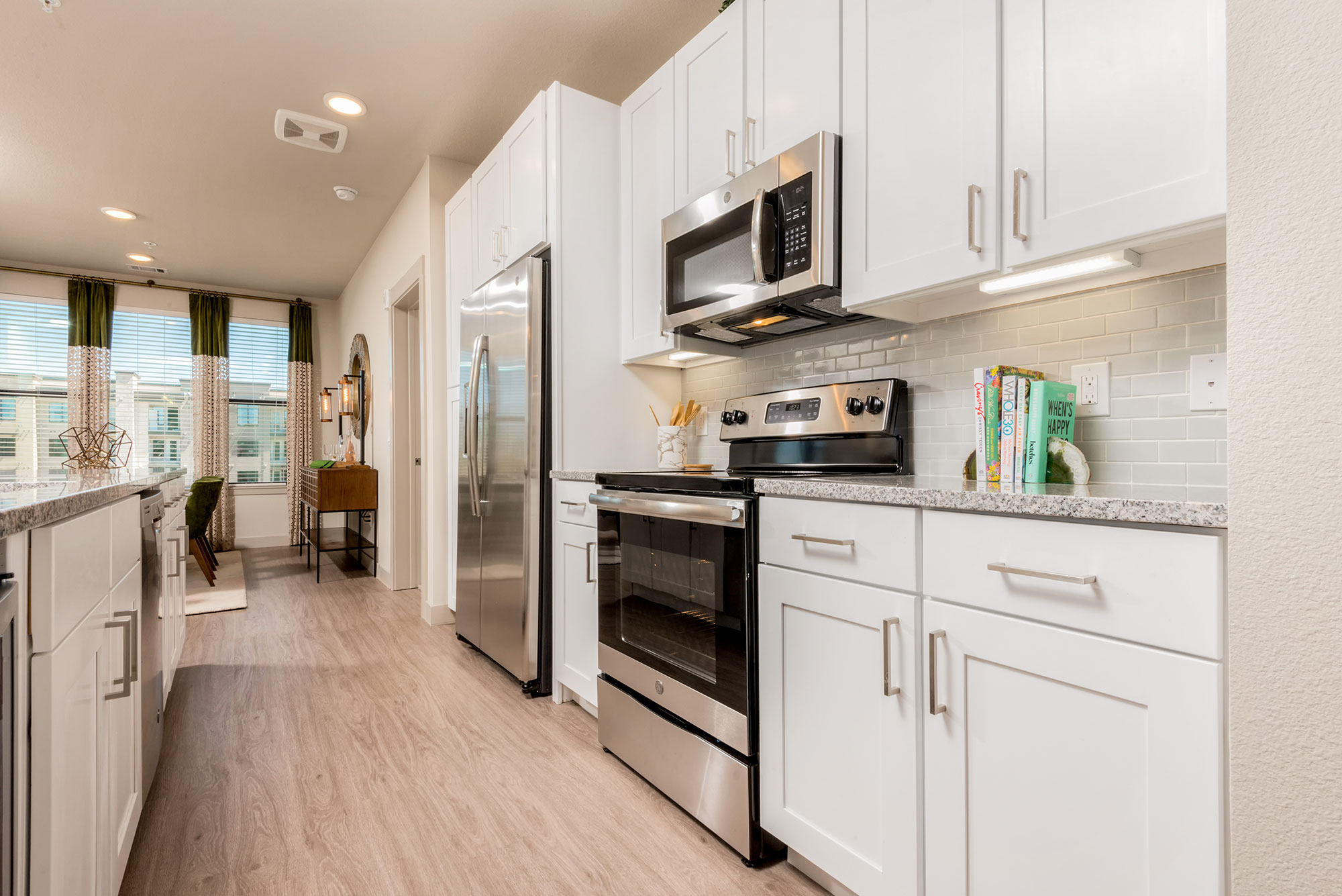 Riata - Model Unit - Kitchen Appliances