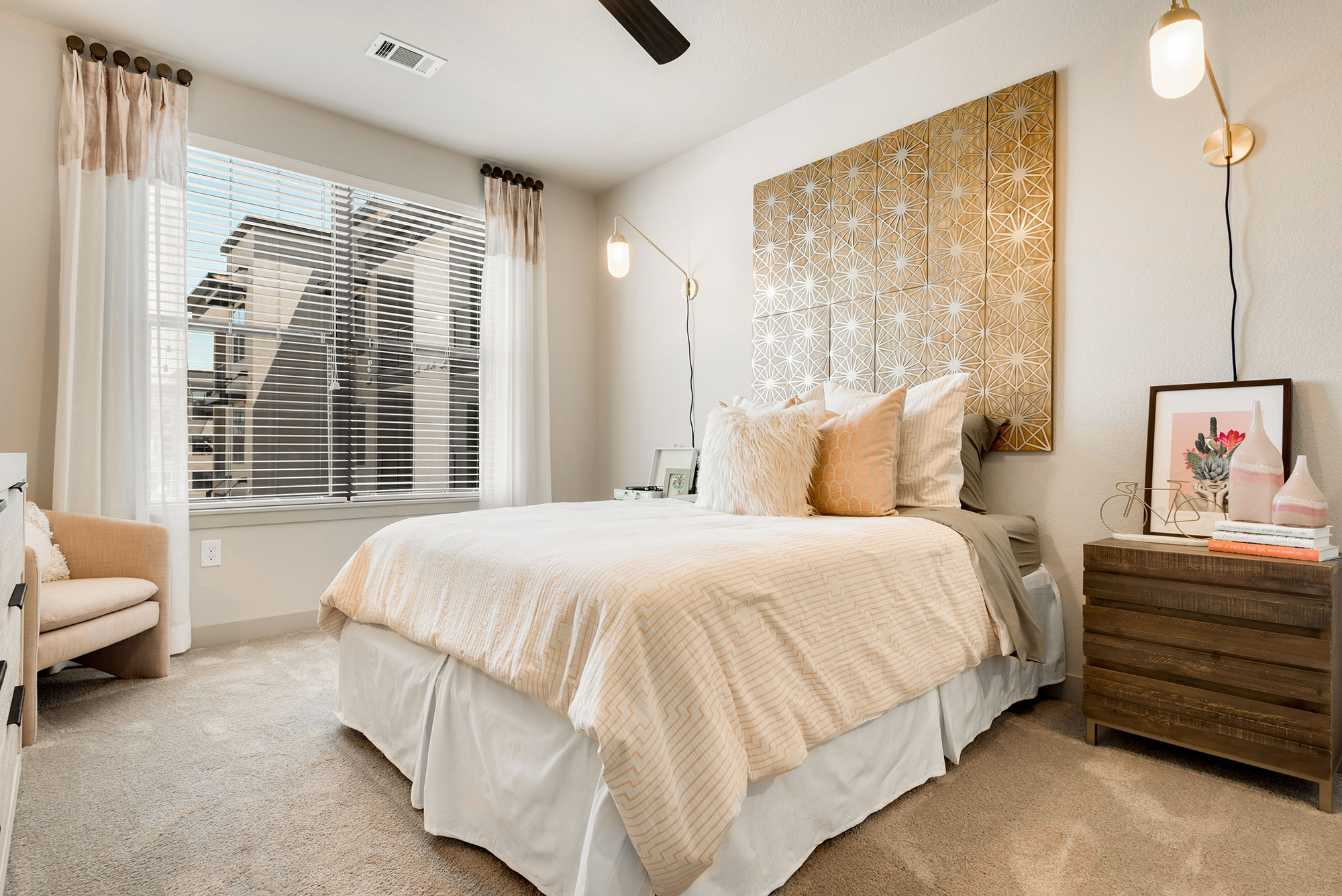 Riata - Model Unit - Bedroom wide view