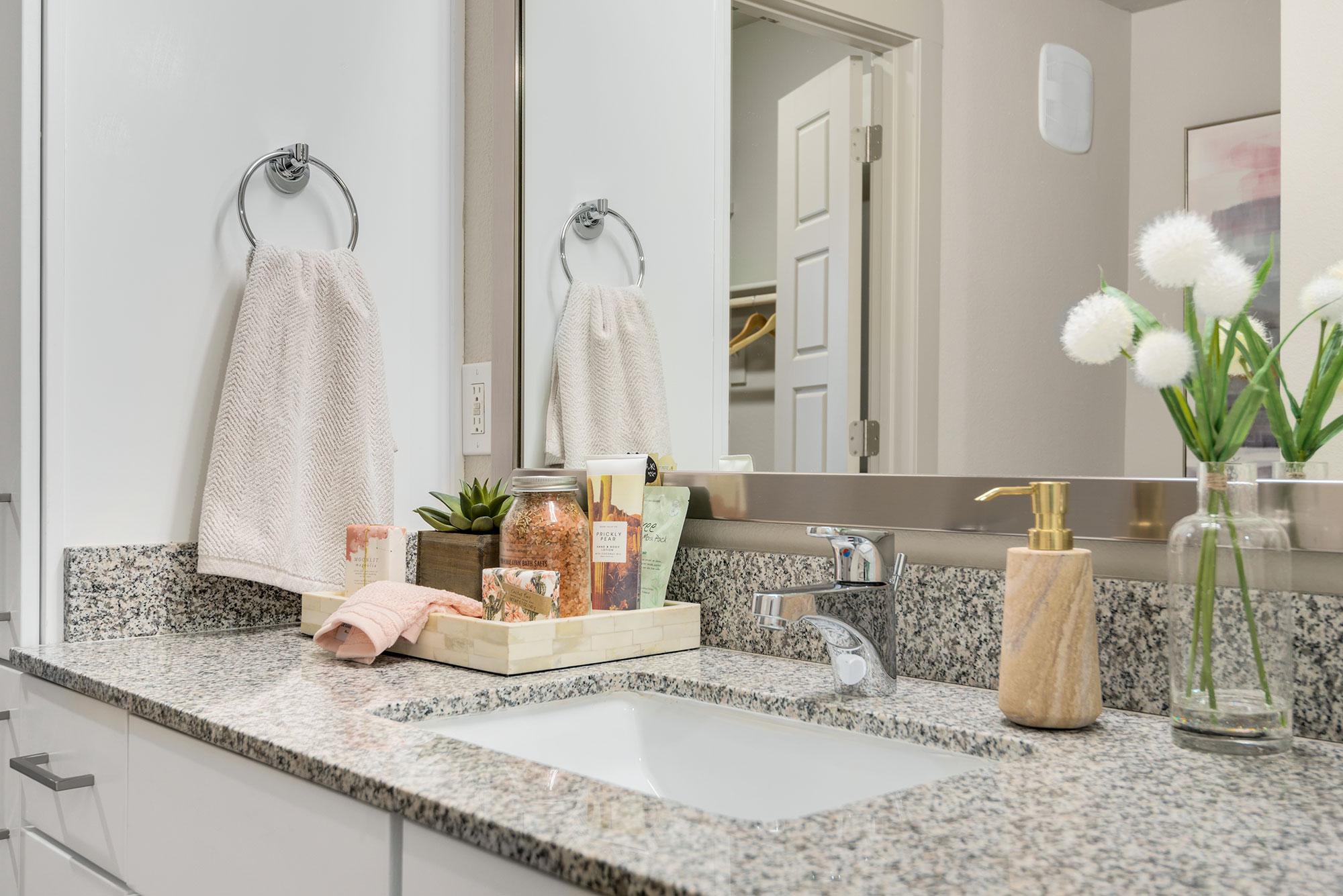 Riata - Model Unit - Bathroom sink