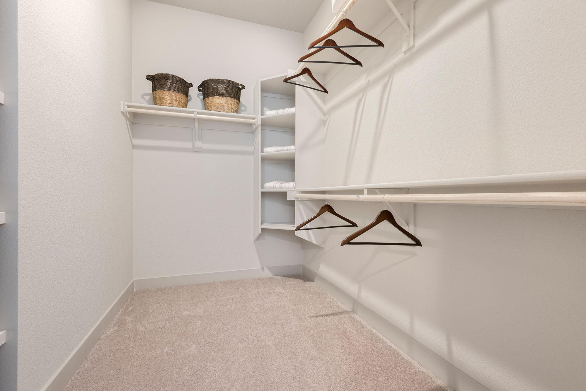 Riata - Model Unit - Walk in Closet